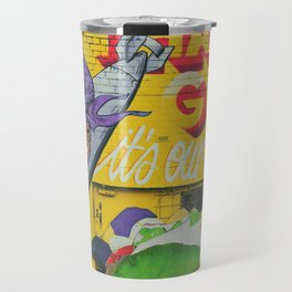 Thank God for Graffiti Travel Mug