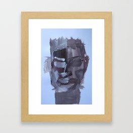 African Mask  Framed Art Print