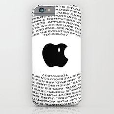 A Tribute To Steve Jobs iPhone 6s Slim Case
