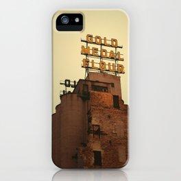 Gold Medal Flour iPhone Case