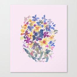 Wildflower Lovelies Canvas Print