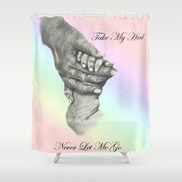 Take My Hand Shower Curtain