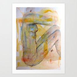e.Motionless Art Print