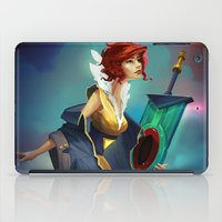 transistor iPad Cases featuring Red and Luna by Leksotiger