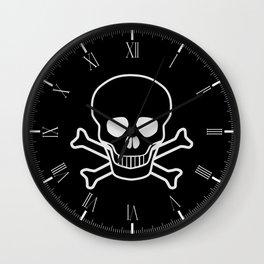 Jolly Rodger Wall Clock