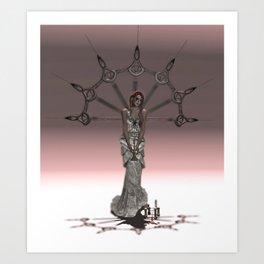 Vivienne Art Print