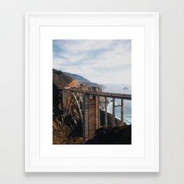 The Bixby Bridge Framed Art Print