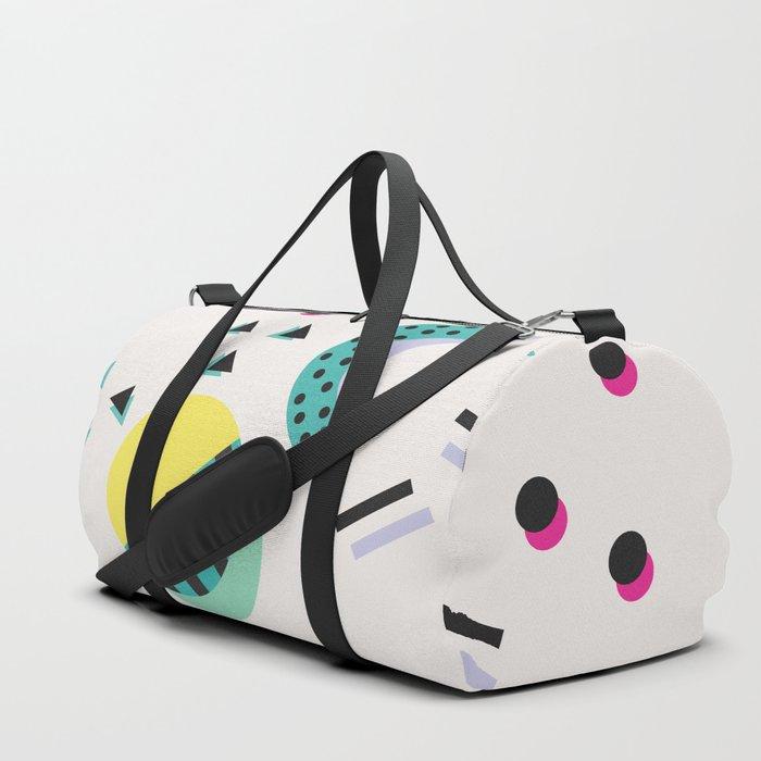 Vintage Retro Party Colour Duffle Bag