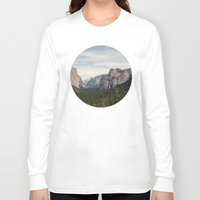 yosemite Long Sleeve T-shirts featuring Yosemite Valley by Laura Ruth