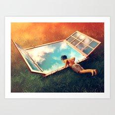 Sweet Vertigo Art Print
