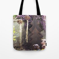 deco Tote Bags featuring Deco by Kristin Kaiser
