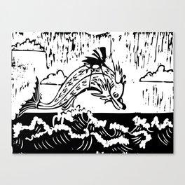Weird Fish Canvas Print