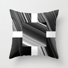 Saturn Rings (all) Throw Pillow