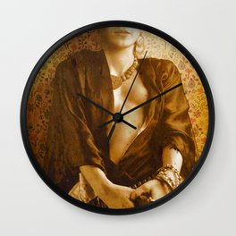 Frida Gun Wall Clock