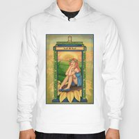 amy pond Hoodies featuring Amy Pond Art Nouveau by rointheta