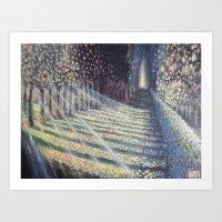 Forest Scene II Art Print