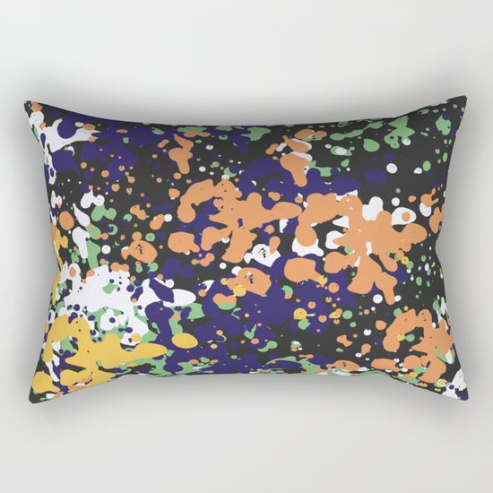 Abstract 36 (V2) Rectangular Pillow