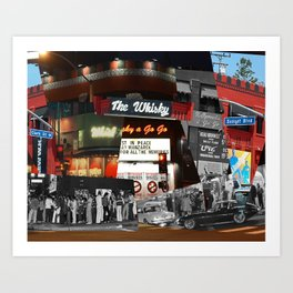 Time At The Whisky Art Print