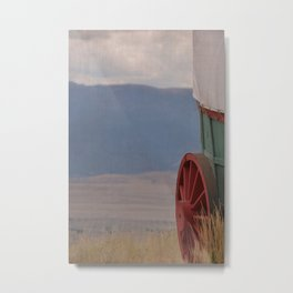 COVERED WAGON - END OF THE OREGON TRAIL Metal Print
