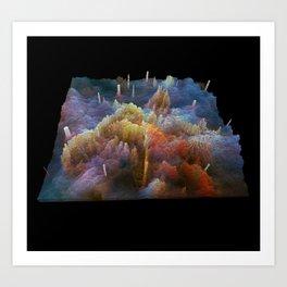 Exterrain Art Print