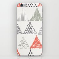 triangle iPhone & iPod Skins featuring Triangle by samedia