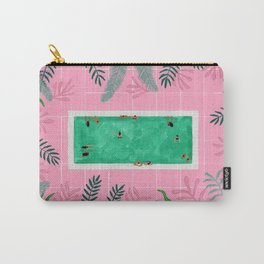 Pink riad pool Carry-All Pouch