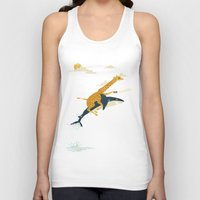 art Tank Tops featuring Onward! by Jay Fleck