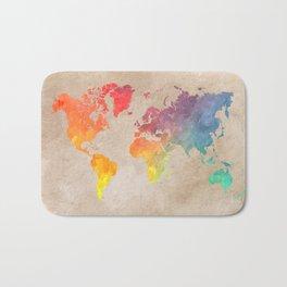 World Map Maps #map #maps #world Bath Mat