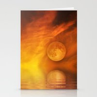 skyfall Stationery Cards featuring skyfall by LuMixaArt