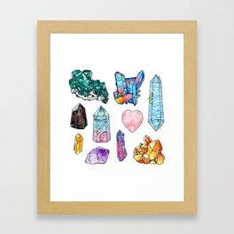 Crystal Collection Framed Art Print
