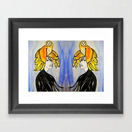 Soul Mate #society6 #decor #buyart Framed Art Print
