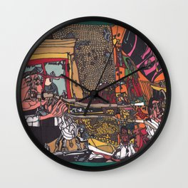 Music for all ages Wall Clock