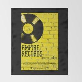 Empire Records Throw Blanket