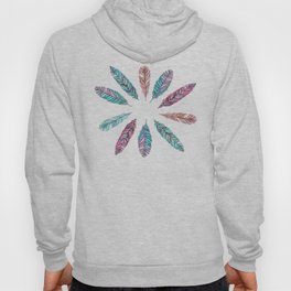 Wallpaper Feather Hoody