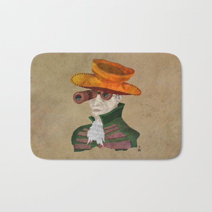 'Postapocalyptic' style Madhatter (Alice in Wonderland) Bath Mat
