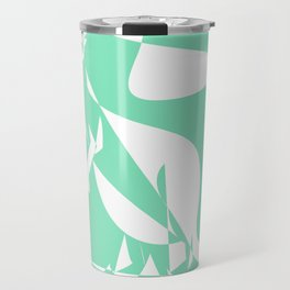Carnival Glass Kangaroo Travel Mug