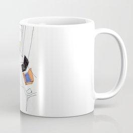 in the virtual reality suit Coffee Mug
