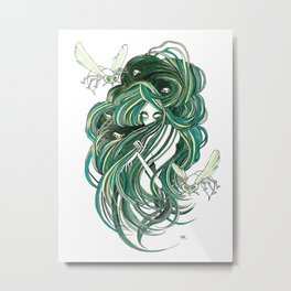 Seven Deadly Sins 'Envy' Metal Print