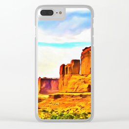 Moab Clear iPhone Case