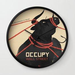 THE BEGINNING IS NEAR Wall Clock