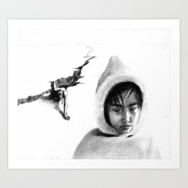 Qallupilluk i  Art Print
