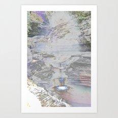 Chromascape 9 (Watkins Glen) Art Print