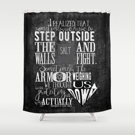 Unmarked - Step Outside The Walls Shower Curtain