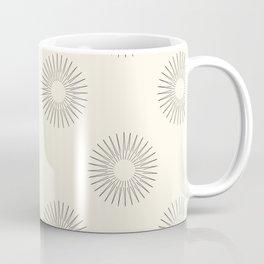 Abstract sun pattern  Coffee Mug