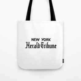 new york herald tribune Tote Bag