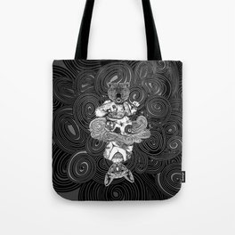 Grizzly and Sphynx Tote Bag