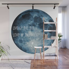 Love By The Moon Wall Mural