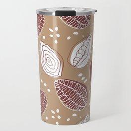 Chilli cocoa pattern Travel Mug