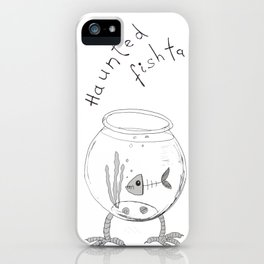 The Haunted Fishtank iPhone Case