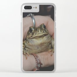 Toad Prince Clear iPhone Case